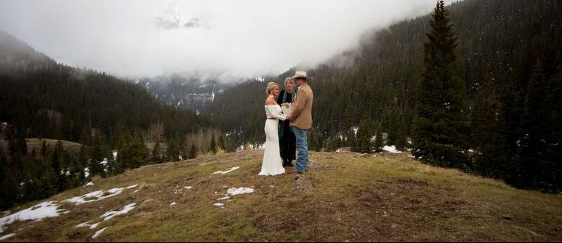 Winter Wedding in Western Colorado